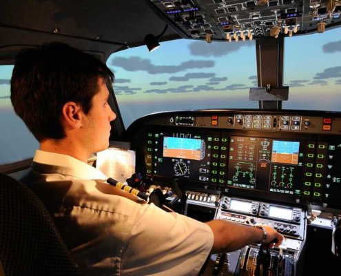 pilot in flight simulator alsim alx