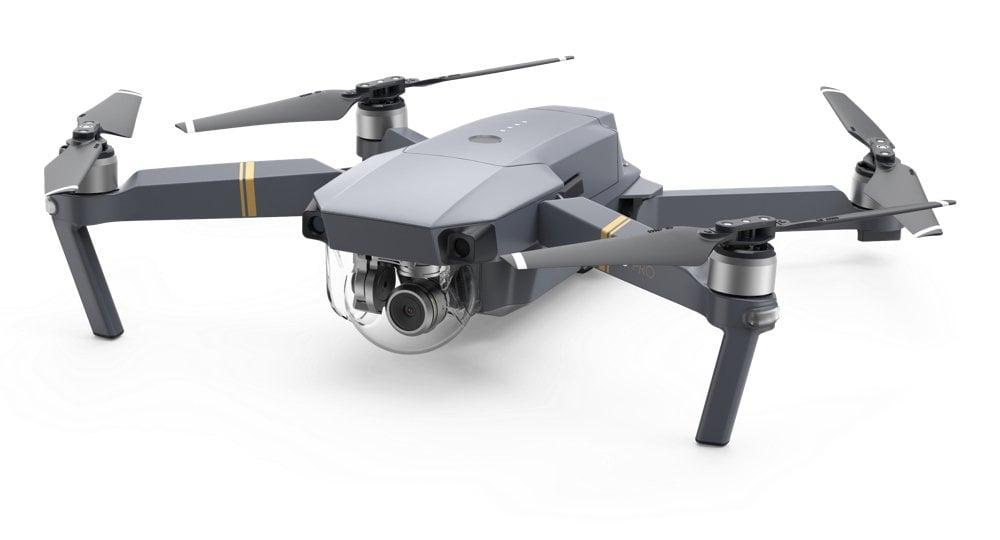 DJI MAVIC DRONE LATERAL VIEW