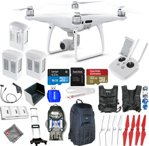 TRAVEL KIT ACCESORIES DRONE DJI Phantom 4