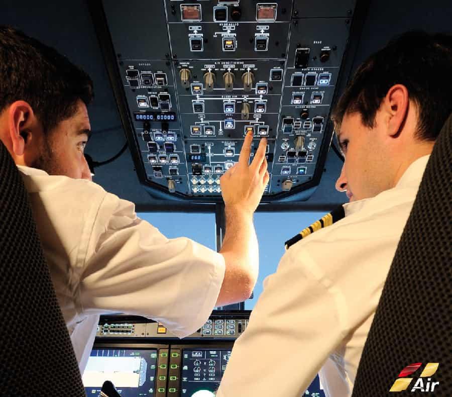 cockpit flight simulator alsim alx multi panel crew