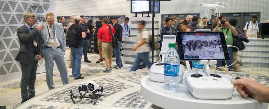 dji drone conference in usa