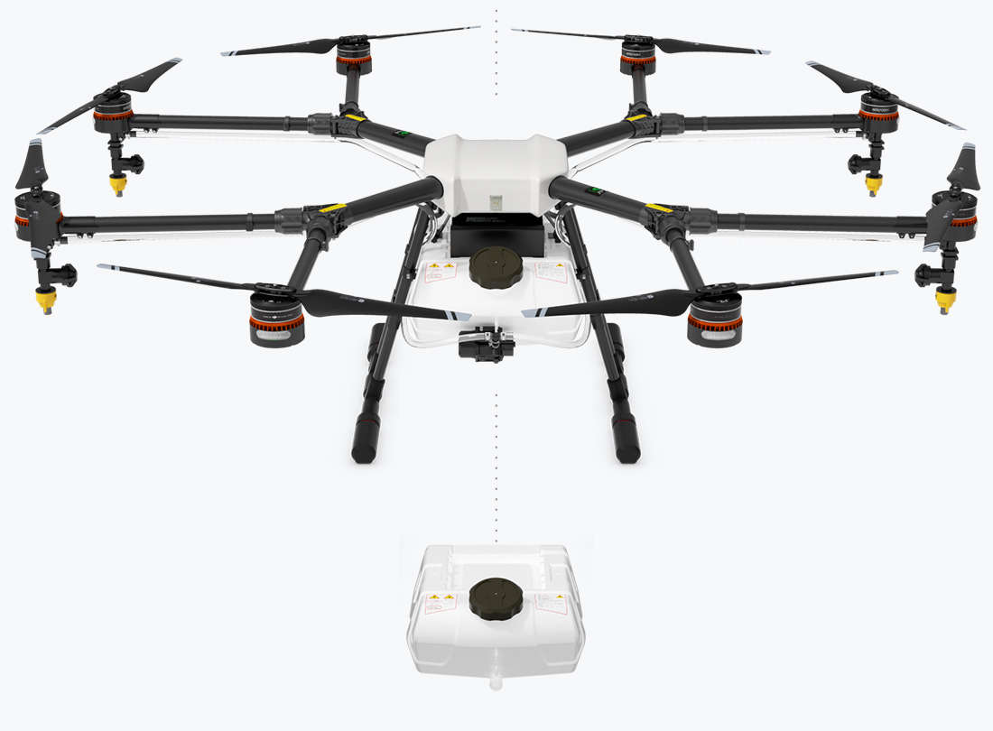 specific dji drone for agriculture