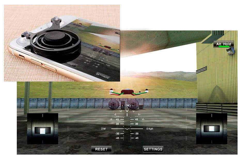 smartphone app to control drones