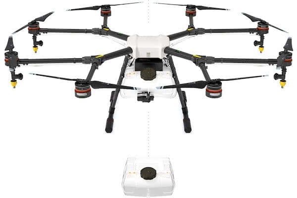 dji agras mg-1 industrial drone
