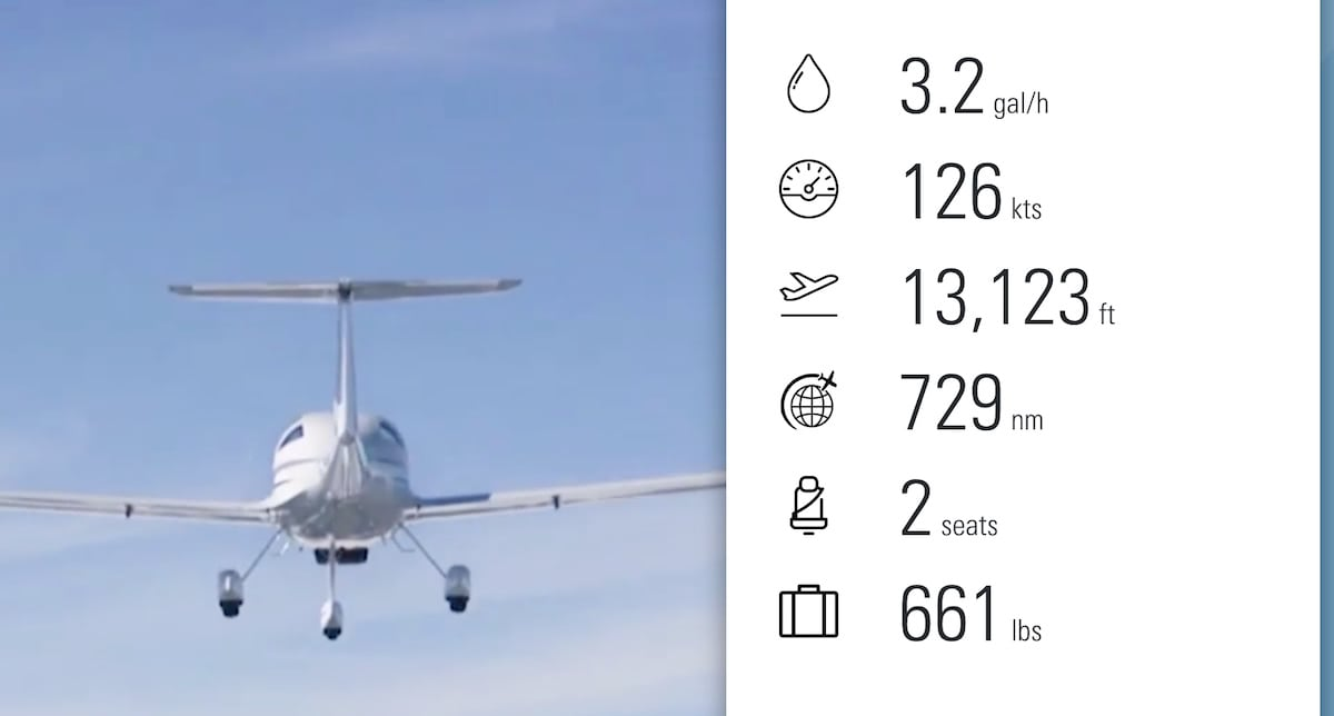 diamonds da20 airplane main specifications