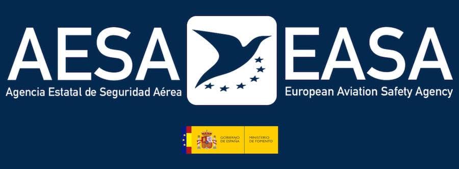 aesa logo, easa logo, ministry of development, goverment of spain