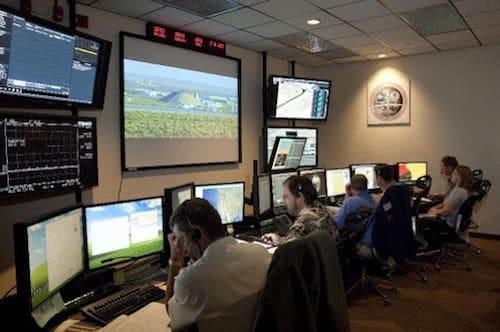 nasa global hawk industrial drone control room