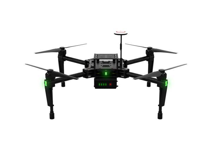 xiaomi drone in flight