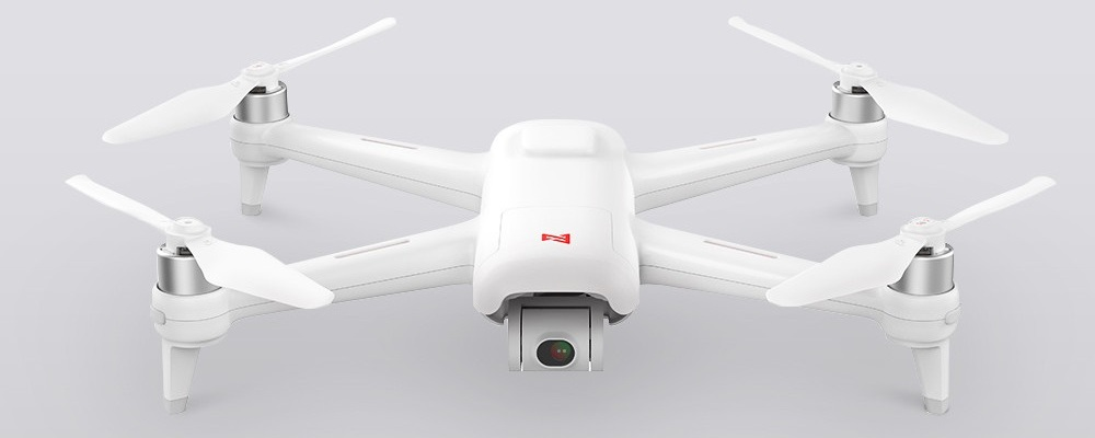 xiaomi fimi a3 drone in white colour with grey background